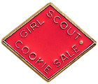 2009-2010 Girl Scout Cookie Activity Pin. © GSUSA. All rights reserved.