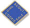 The Girl Scout Cookie Activity Pin 2014-2015