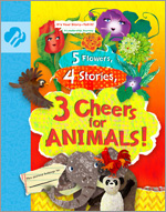 5 Flowers, 4 Stories, 3 Cheers for Animals!