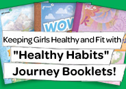 Girls Scouts Journey Booklets
