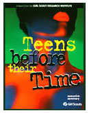 Cover of Teens Before Their Time