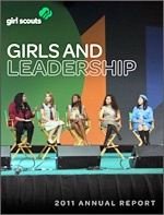 Cover of the Girl Scouts of the USA 2010 Annual Report