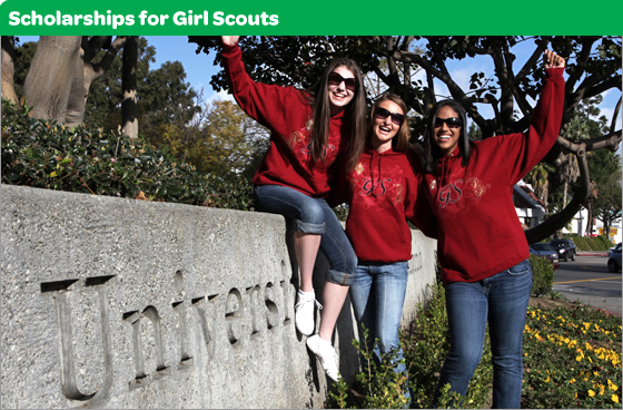 Scholarships for Girl Scouts