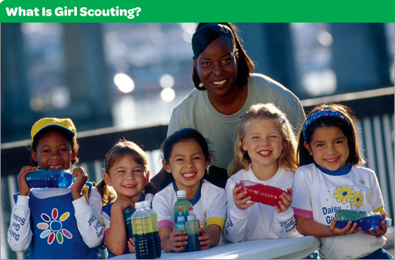 What Is Girl Scouting?