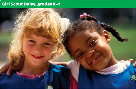 Girl Scout Daisy, grades K-1