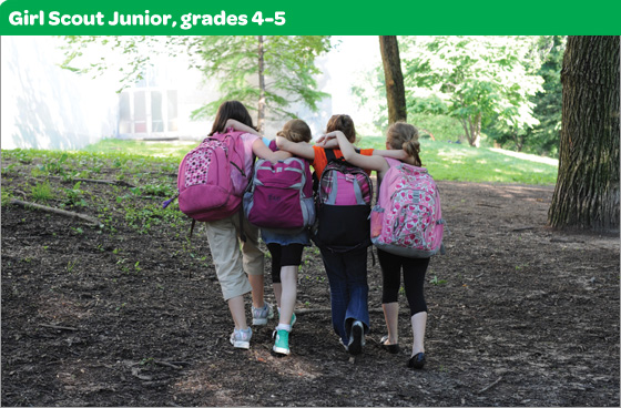 Girl Scout Junior, grades 4-5