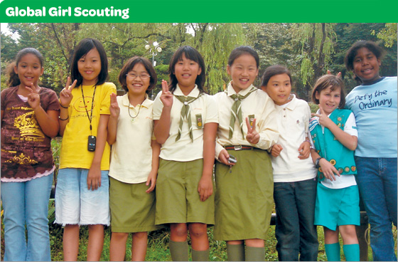 Global Girl Scouting