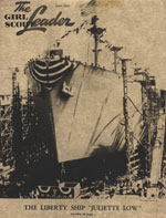 Photo of the Liberty Ship SS Juliette Low. © GSUSA. All rights reserved.