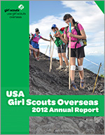 USA Girl Scouts Overseas Annual Report 2012